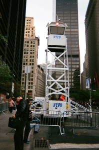Panopticon policing the protest