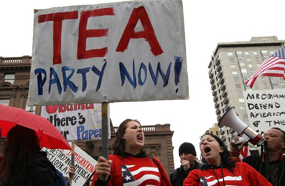 the tea party movement What is the tea party movement - tea party movement.