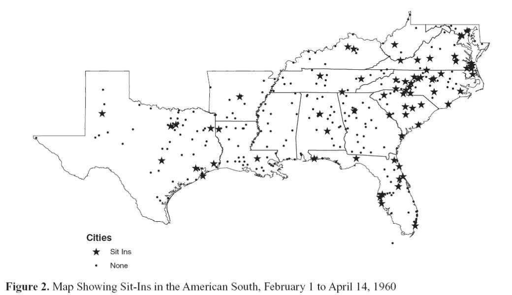 Where Is Wall Street Let The Crowd Tell Us Mobilizing Ideas - Map of southern us cities