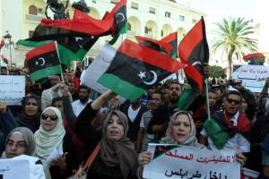 Tripoli Protests Armed Militias