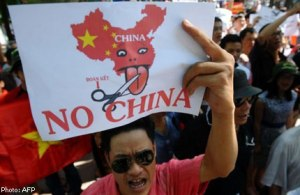Anti-China Protest in Vietnam Photo