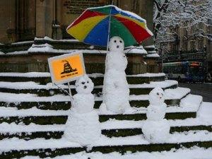 Winter-Protest