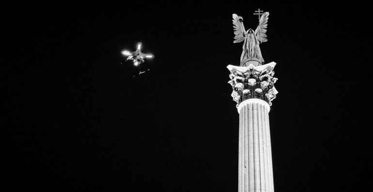 Internet Protest - Drone - Stefan