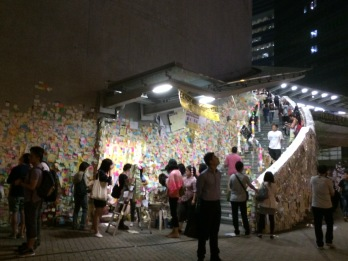 Nov. 1, 2014 - Lennon Wall Hong Kong