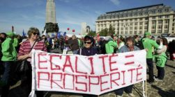 Belgians-protest